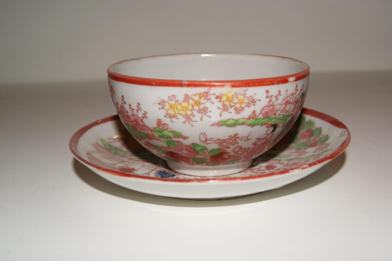 Japanese Tea Cup and Saucer circa 1950s*