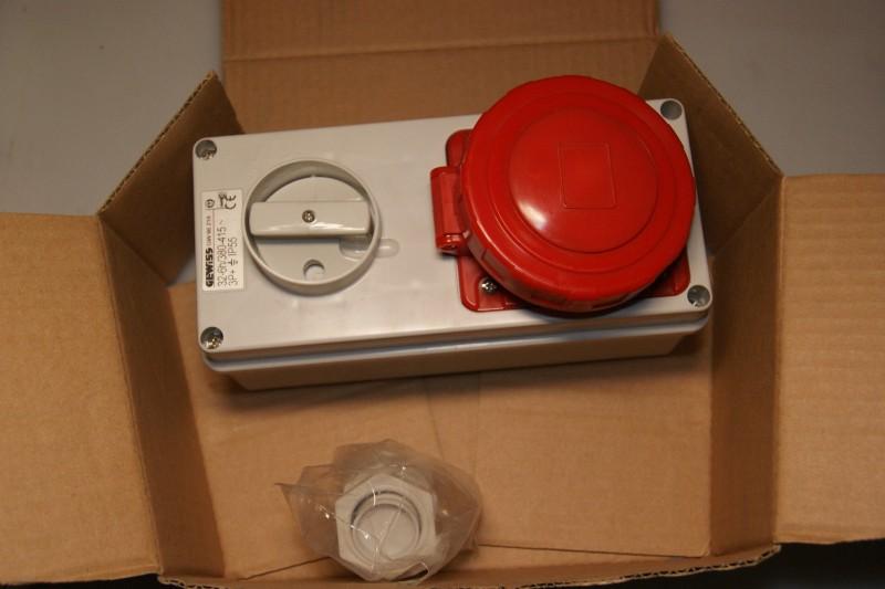 Gewiss GW 66 219 Interlocked socket outlet