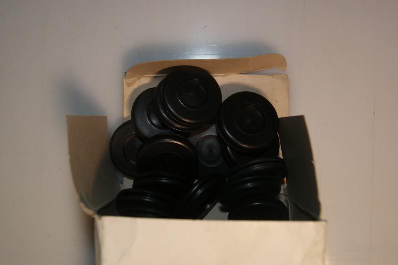 PVC Grommets 25mm semi blind
