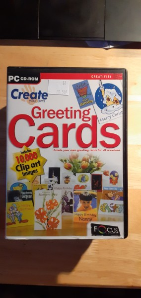 Create your own greeting cards for PC CD-ROM