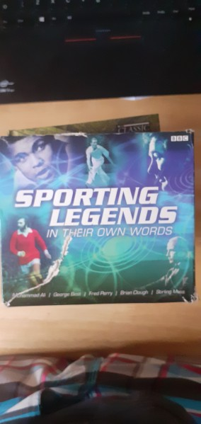 Sporting Legends in their own words