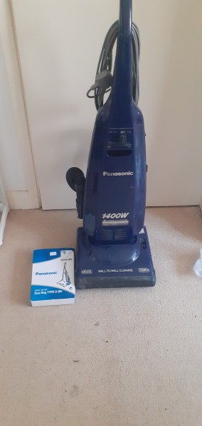 Panasonic upright vacuum cleaner 1400w