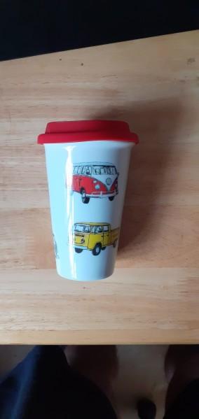 Ceramic VW drinking cup