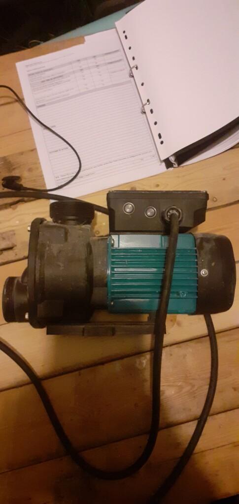 Jacuzzi Pump ESPA Tiper0 90M V SP4 (reclaimed)